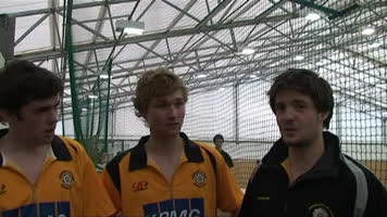 Saturday - interview with Men's indoor Hockey