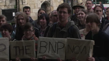Anti-BNP rally held in York