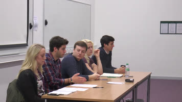 YUSU Press Conference - Autumn 2014