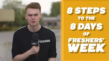 8 Steps to the 8 Days of Freshers' Week