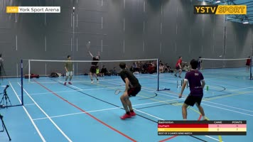 Badminton Tournament - York v Durham