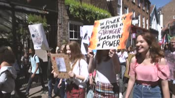 YSTV Reports - #YouthStrike4Climate
