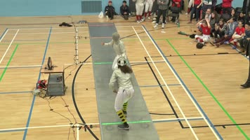 Fencing - Women's 1st